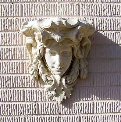 Large Lady Champagne Corbel with Stone Texture GFRC (Highly Detailed)