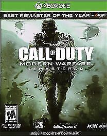 Call of Duty 4: Modern Warfare Remastered (Microsoft Xbox One, 2017) *Used*