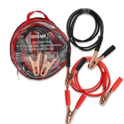 200Amp Booster Car Cable Jumper In Zipper Bag