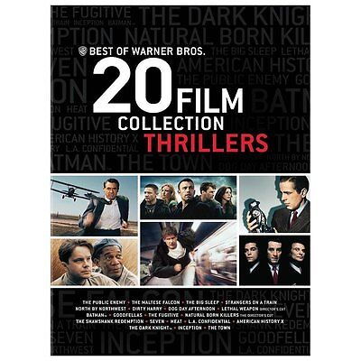 Best of Warner Bros 20 Film Collection Thrillers (DVD, 20-Disc)