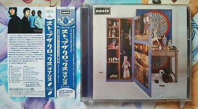 oasis Stop the Clocks Album Music Japan CDs with OBI Used