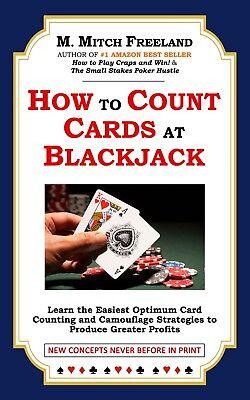 SALE (Digital Book) How to Count Cards at Blackjack by M. Mitch Freeland (2017)