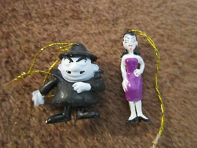 Boris Natasha from Bullwinkle Small Gift Toppers Christmas Ornaments Collectible