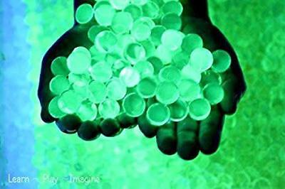 GLOW IN THE DARK ORBEEZ Water Beads.Makes 5+ Litres Stunning Wedding Decorations