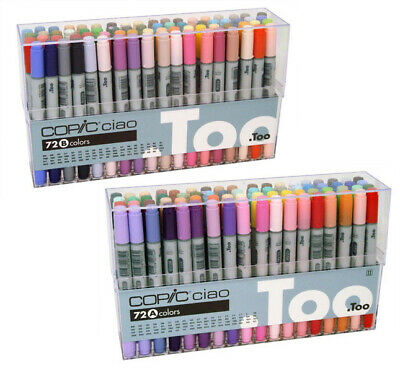 Copic Ciao Colour Marker Pen Set 72A or 72B