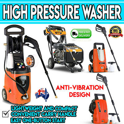 High Pressure Washer Car Cleaner Kit Gun Petrol 8HP PSI Power Water Gurney Tools