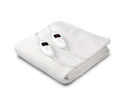 Fully Fitted Washable LED 9 Setting Heated Electric Blanket King Size Bed