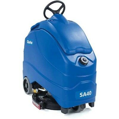 "NEW! Clarke S40 20D 20"" Stand on Automatic Scrubber, 208 Ah wet batteries!!"