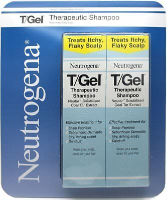 Brand New Neutrogena T-GEL Therapeutic Shampoo 250ml PACK of 1 OR 2