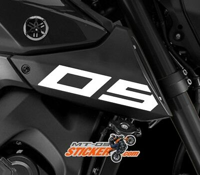 2016-14 YAMAHA FZ-09 MT-09 SIDE INTAKE COVER STICKER DECAL 10 COLORS fz09 (05)