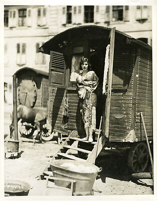 """CAMP-VOLANT (MARKO DER KLOWN)"" Photo originale 1931 (Jenny LUXEUIL)"