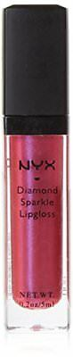 NYX Cosmetics Diamond Sparkle Lipgloss - Fuschia