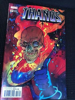 THANOS #17 NM+ 9.6 WARD VARIANT COVER COSMIC GHOST RIDER Sold Out Silver Surfer