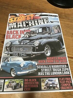 STREET MACHINE UK ISSUE 10 APRIL 2018 Will Post Second Class Next Day