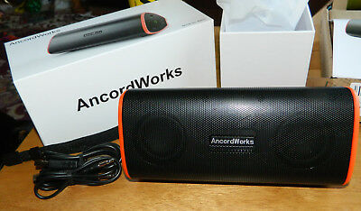 ANCORDWORKS Premium Bluetooth Speaker with TWS, Portable Dustproof/waterproof .