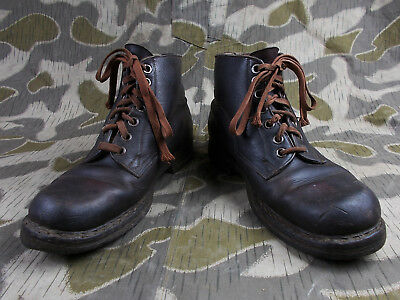 7bca59f9c44 WW2 GERMAN ARMY Elite Soldiers Low Ankle Boots Uniform Shoes