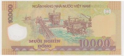 (N13-63) 1993 Vietnam 10,000 Dong bank note (A)