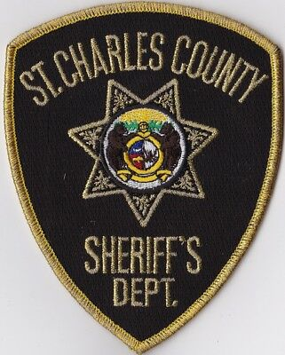 St. Charles County Sheriff's Dept. Police Patch Missouri MO NEW !!!