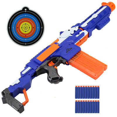 Toy Gun Soft Bullet Electric Rifle Water Nerf Sniper Weapon Plastic Bullets Dart