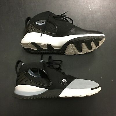low priced 6b289 c0ca3 Ht2k6 Nike Graystone Wolf 313373 Sz 13 Air Musta Huarache Trainer qqPwTBrtZ