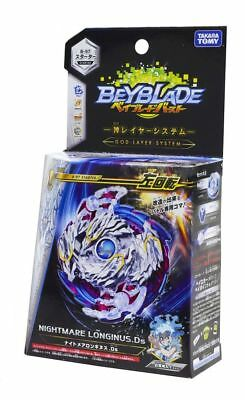 New Takara Tomy Beyblade BURST B-97 Starter Nightmare Longinus.Ds