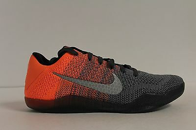 premium selection 019c7 5ef52 Nike Kobe XI 11 Elite Low Easter Dark Grey Bright Mango Size 12 (822675-