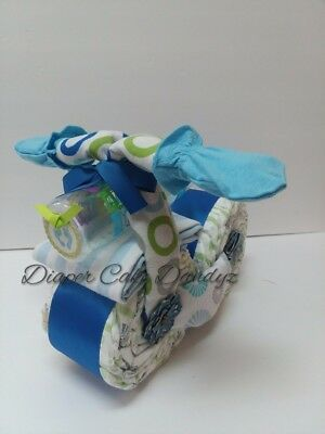 diaper cake motorcycle for boy baby shower baby gift