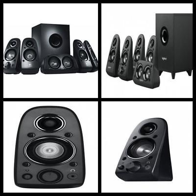Logitech Surround Sound Speaker System 5.1 Channel Home Theater Stereo Audio Kit
