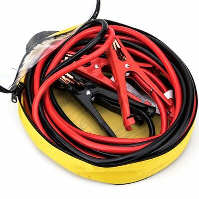 Comercial Heavy Duty Copper Wire Clamps 20 FT 2 Gauge Booster Cable Jumper Cable