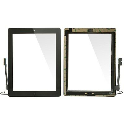 Touch Screen Digitizer Assembly Replacement for iPad 4 with Small Parts