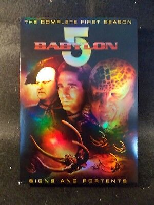 Babylon 5 The Complete First Season (6 DVD's, 2008)