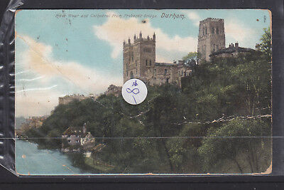 Postcard:  1904 River Wear And Cathedral From Prebend's Bridge Durham