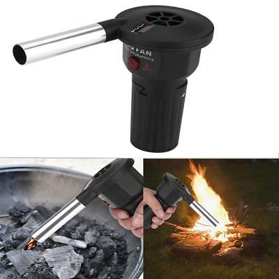 Battery Powered BBQ Fan Air Blower for Outdoor Camping Picnic Grill Barbecue SG