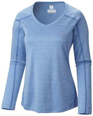 Columbia Women's Zero Rules Long Sleeve Shirt - S, BLU