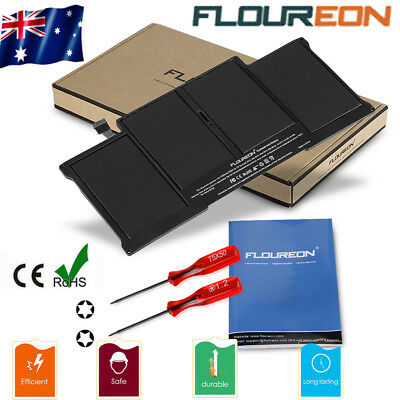 "Battery for Apple MacBook Air 13"" Mid-2012 2011 2013 A1405 A1466 A1496 7200mAh"