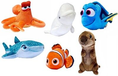 "OFFICIAL 6"" Finding Dory PLUSH Soft Toy Nemo Destiny Bailey Hank Sea Otter Kids"