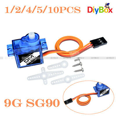 5115# SG90 9g Mini Micro Servo for RC for RC 250 450 Helicopter Airplane Car