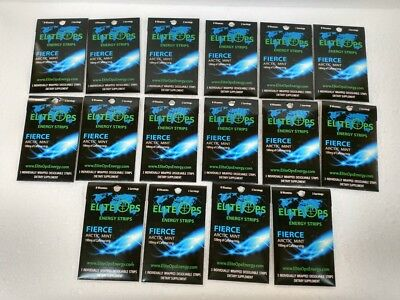 ELITE OPS ENERGY STRIPS / 48 STRIPS-16 PACKS OF 3 STRIPS -Same as Sheets formula