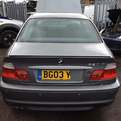 Bmw E46 Coupe 320 M Sport Boot Lid Complete Silbergrau Metallic Breaking Parts
