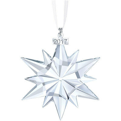 Swarovski Crystal 2017 ANNUAL EDITION LARGE CHRISTMAS ORNAMENT 5257589