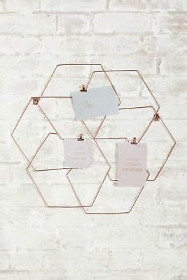 Rose Gold Memo Board Office Bedroom Contemporary Inspiration Motivation Wall New