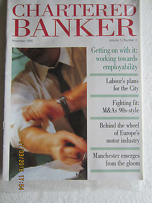 Chartered Bankers Magazine X 4-1995/6