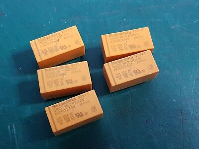 DS2E-ML2-DC12V Latching 2 Coil Relay Low Signal Relay  Panasonic Latching Relay