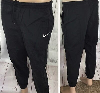 Vintage Nike Track Pants Windbreakers Sweatpants Unlined Swoosh Youth L 14 Nylon