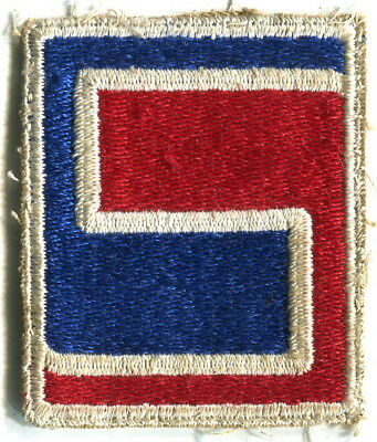 69TH INFANTRY DIVISION Original WW2 US Army Patch