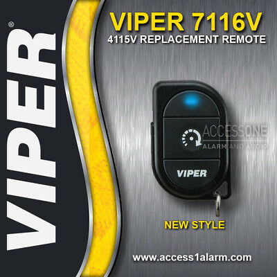Viper 7116V 1-Button 1-Way Replacement Remote Control Transmitter Viper 4115V