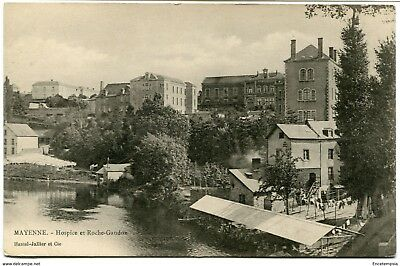 CPA - Carte postale -FRANCE - Mayenne - Roche Gandon - Hospices (CPV638)