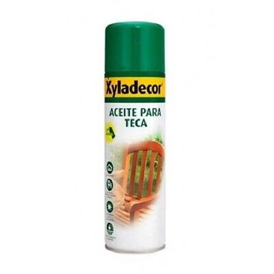 Xyladecor aceite teca spray 500 ml Incoloro