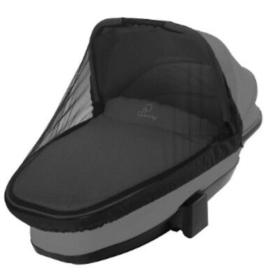 Quinny dreami carrycot mosquito insect net/summer cover - Black