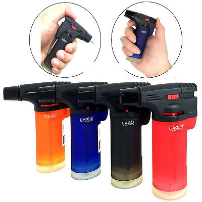 4 Pack Eagle Jet Gun Torch Butane Lighter Windproof Refillable